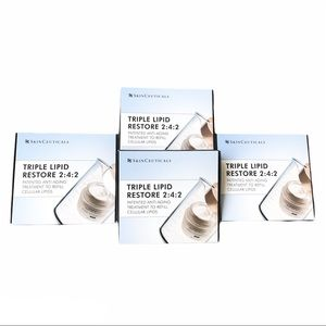 Set of 4 SkinCeutical triple lipid restore samples